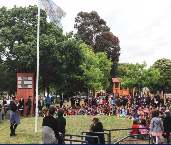 Princes Hill Primary School Assembly